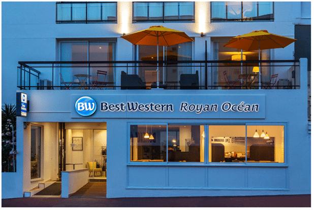 Best Western ouvre l'Hotel Royan Océan