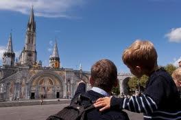 Lourdes, France, Pyrénées