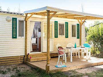 mobil home camping vendee