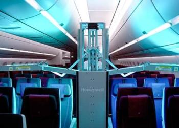Aérien : Un robot pour le nettoyage des cabines
