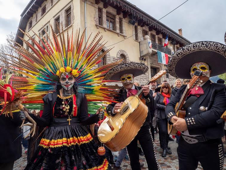 fête des morts, France, Mexique, Barcelonnette