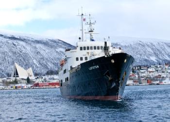 MS Lofoten : Le navire de croisière devient centre de formation.