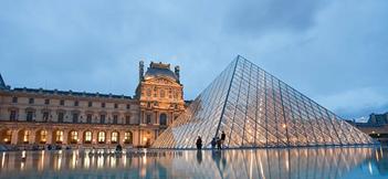 Louvre musée, France