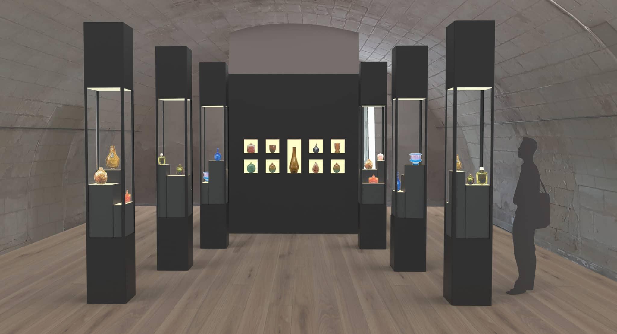 MUSEE, ART, MODERNE, FONTEVRAUD