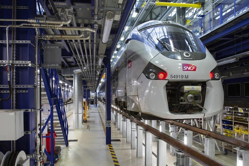 Premier TER Hybride en France