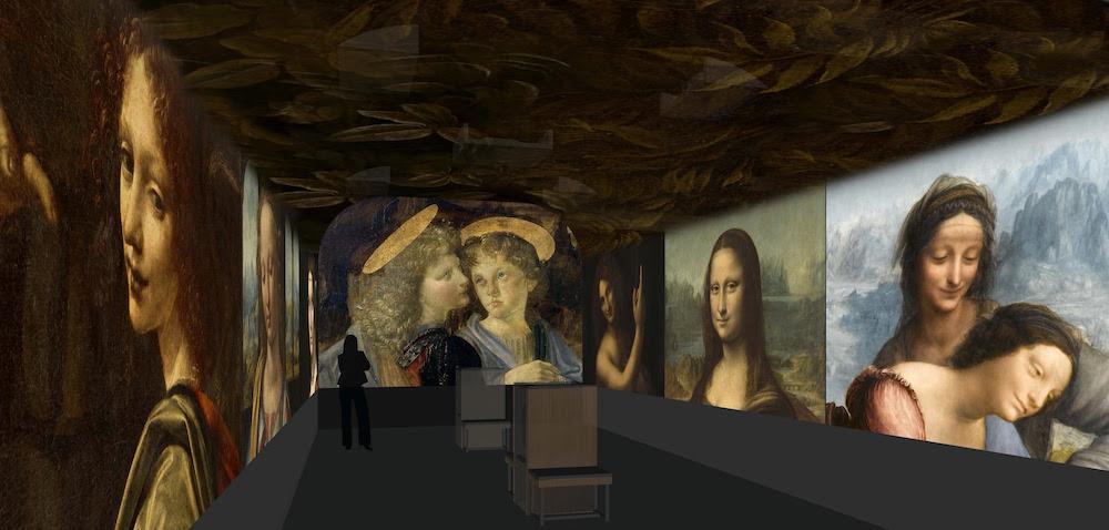 Château du Clos Lucé se dote d'un nouvel espace immersif