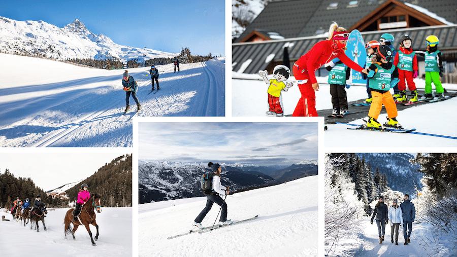 Méribel : Se tester aux autres sports d'hiver pendant les vacances