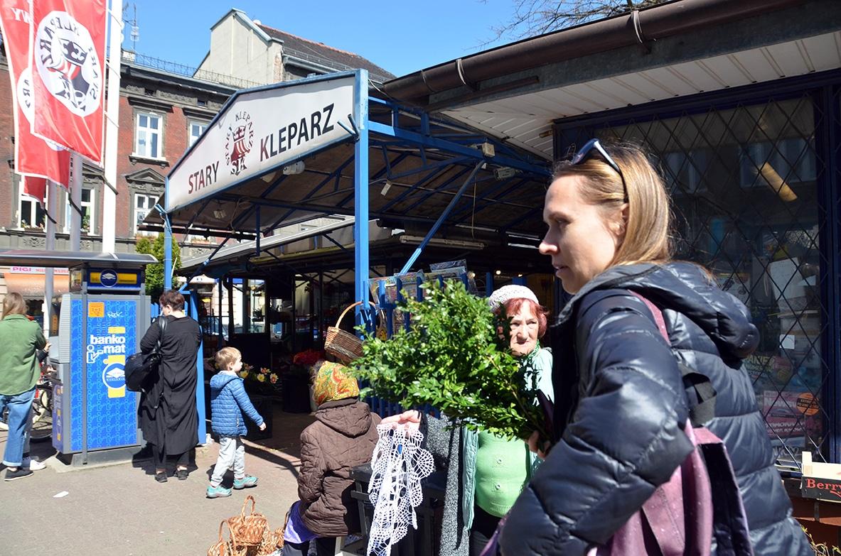 Polski rynek w Charkowie