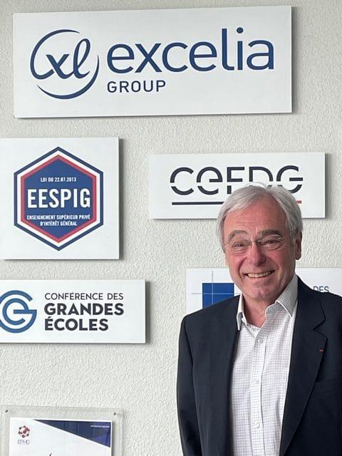 Jean-Pierre Helfer Directeur de la recherche d'Excelia Group
