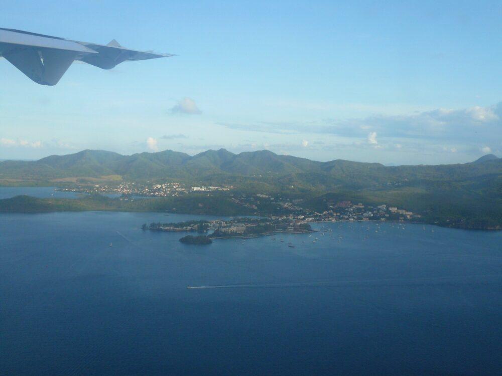 avion pass sanitaire martinique