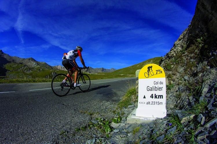 Cycliste Valloire