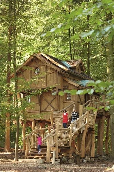 Hütte im Wald in Deutschland