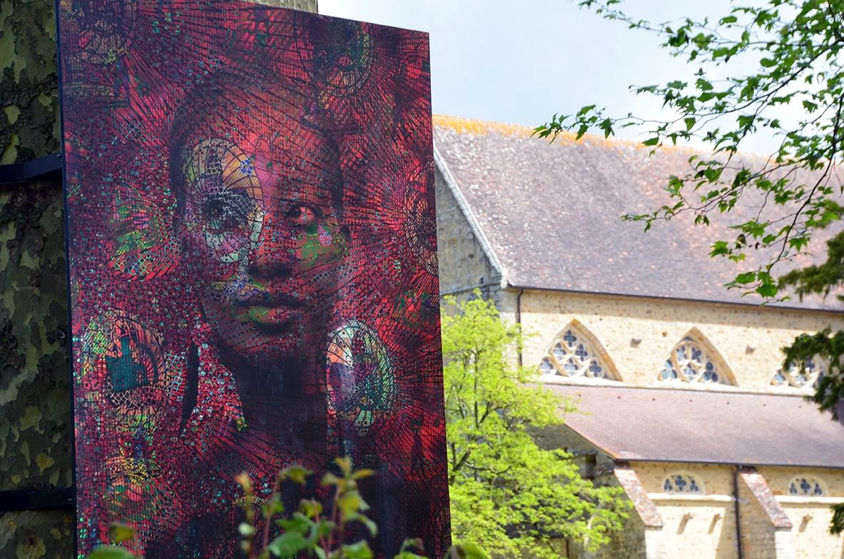 Abbaye de l'Epau Mama Benz tissu Wax Afrique