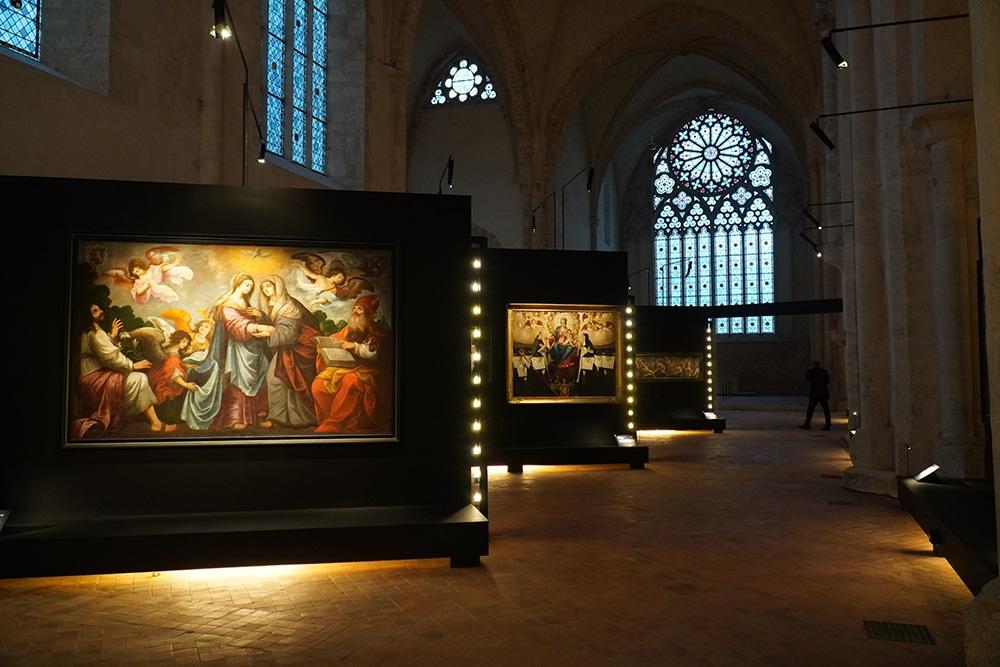 Une exposition d'envergure nationale à l'Abbaye Royale de l'Épau intitulée « Trésors d'art sacré – 30 ans de restauration par le département de la Sarthe »